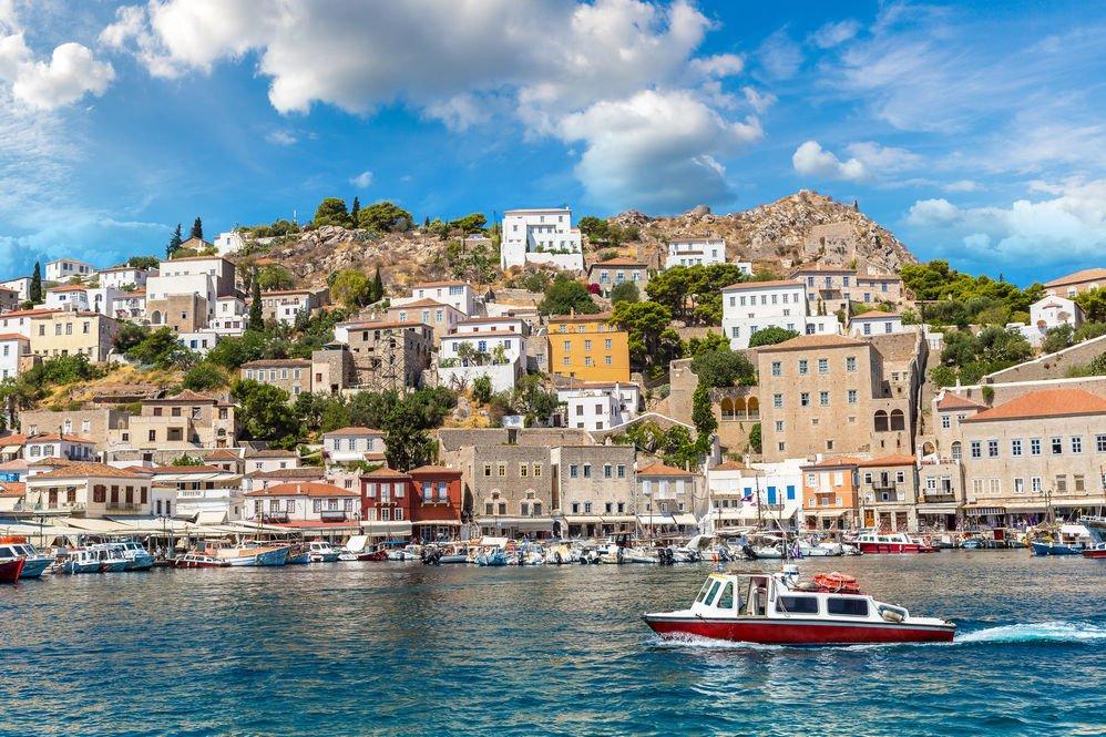 isla hydra, grecia