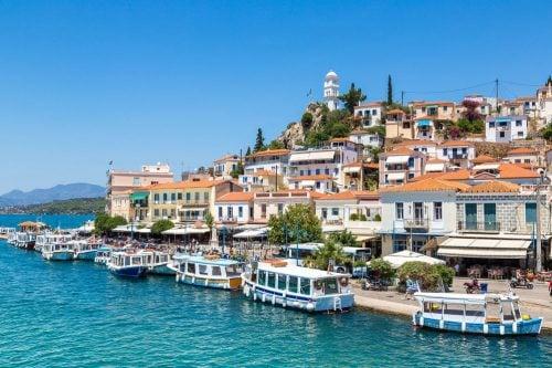 poros island greece