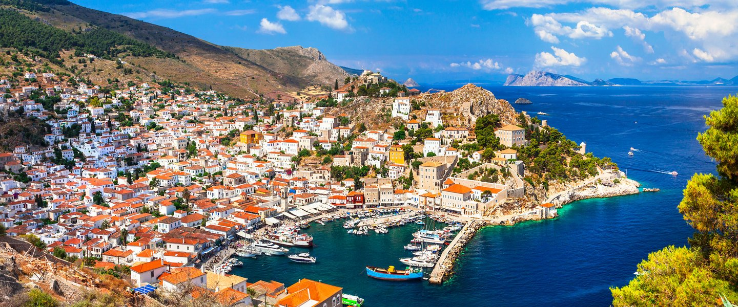 Hydra island in Greece