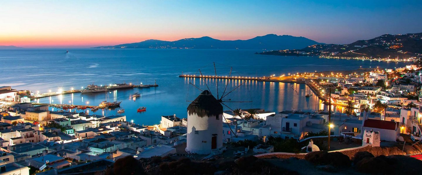 Glamorous Mykonos in (1) One Day Magnificent Cruise