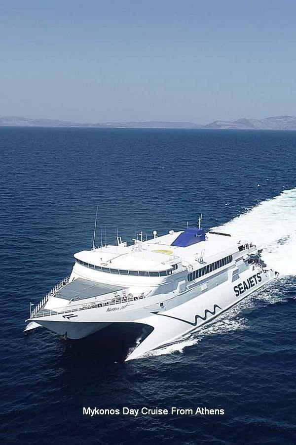 Mykonos Day Cruise From Athens