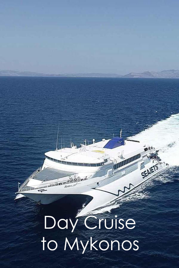 1-day boat cruise from athens to mykonos